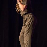 2e place : Maya McLellan (chant) Dans la catégorie 13 à 17 ans