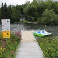 Photo : Jacinthe Laliberté    Un accès facile pour une promenade agréable pour toute personne qui se présentait au parc Irénée-Benoit.