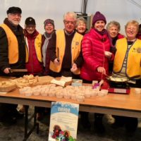 Une équipe de bénévoles qui sait recevoir !    Photo courtoisie de la Municipalité de Piedmont