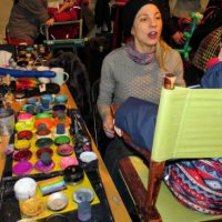 Le maquillage, une activité toujours appréciée des enfants   Photo courtoisie de la Municipalité de Piedmont