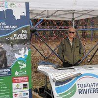 Une rencontre avec Ronald Raymond, un passionné de pêche à la mouche afin de se sensibiliser et connaître les ressources de notre rivière