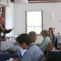 Gilbert Tousignant du Comité régional pour la protection des falaises – Photo courtoisie