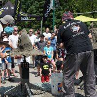 Compétition amicale de «quick sand» – Photo : Diane Brault