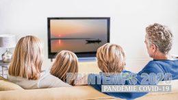 Famille devant la télévision- Journal des citoyens