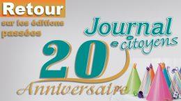 Journal des citoyens 20 ans