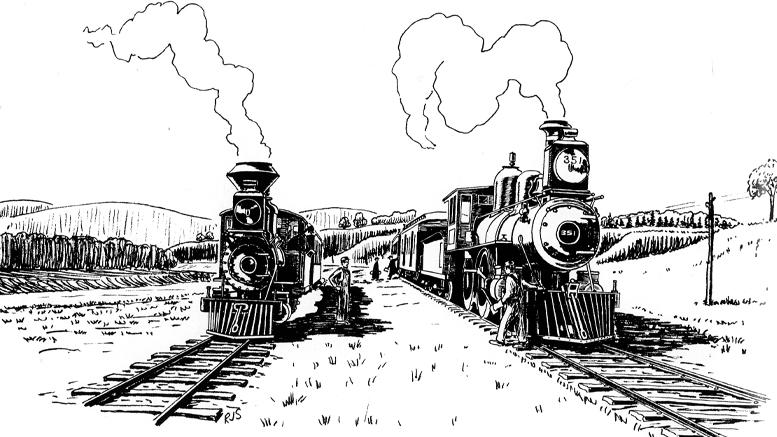 Train à Piedmont, journal des citoyens